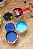 Pintor Imagen de archivo libre de regalías