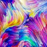 Pintor accidental Palette Foto de archivo libre de regalías