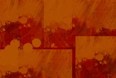 Pintor alaranjado Fotografia de Stock