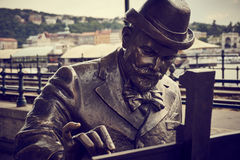 Pintor de Budapest fotos de archivo libres de regalías
