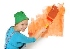 Pintor de casa Fotos de Stock Royalty Free