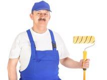 Pintor de casa seguro Imagens de Stock