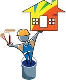 Pintor de casas libre illustration