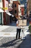 Pintor de la calle Foto de archivo libre de regalías
