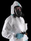 Pintor del aerosol Foto de archivo libre de regalías