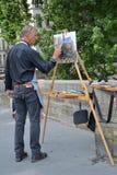 Pintor del artista Fotos de archivo
