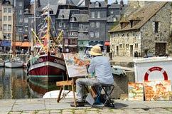 Pintor francês Imagem de Stock