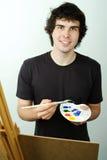 Pintor joven Foto de archivo libre de regalías
