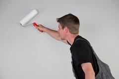 Pintor no trabalho Foto de Stock Royalty Free