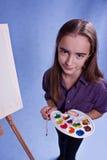 Pintor pequeno fotografia de stock