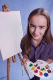Pintor pequeno Imagens de Stock