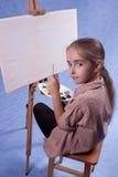 Pintor pequeno Imagens de Stock Royalty Free