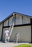 Pintor que consigue listo Fotos de archivo