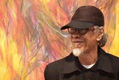 Pintor Yusof Ghani Imagen de archivo libre de regalías