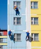 Pintores de casa Foto de archivo