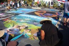 Pintores de la calle Imágenes de archivo libres de regalías