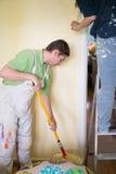 Pintores e decoraters Fotografia de Stock
