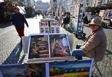 Pintores italianos Fotografia de Stock Royalty Free