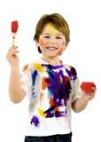 Pintores pequenos Foto de Stock Royalty Free