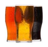 Pints Bier Lizenzfreies Stockfoto