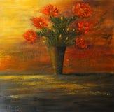 Pintura a óleo ilustração royalty free
