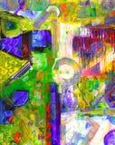 Pintura a óleo Imagem de Stock Royalty Free