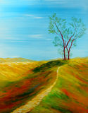 Pintura a óleo Fotos de Stock Royalty Free