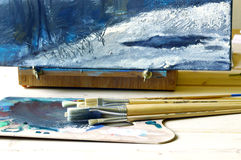 Pintura a óleo Fotos de Stock