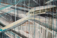 Pintura a óleo abstrata fotos de stock royalty free