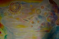 Pintura a óleo bonita Fotografia de Stock Royalty Free