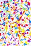 Pintura a óleo colorida imagens de stock