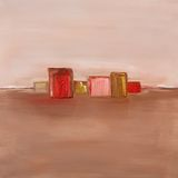 Pintura a óleo contemporânea Imagens de Stock Royalty Free