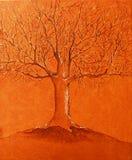 Pintura a óleo original Imagem de Stock