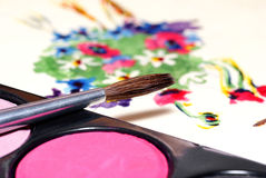 Pintura. Foto de Stock