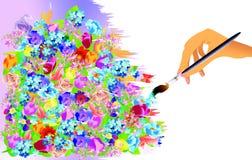 Pintura Imagens de Stock Royalty Free