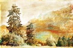 Pintura Stock de ilustración