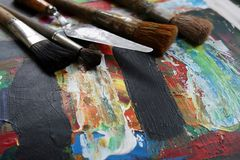 Pintura Foto de archivo libre de regalías