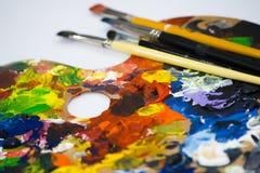 Pintura fotografía de archivo libre de regalías