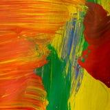 Pintura abstracta Fotografía de archivo libre de regalías