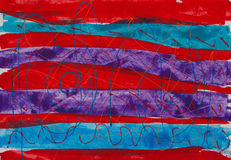 Pintura abstracta ilustración del vector