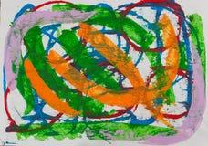 Pintura abstracta libre illustration