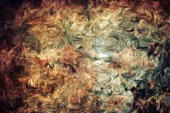 Pintura abstracta Foto de archivo