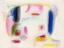 Pintura abstracta Fotos de archivo libres de regalías