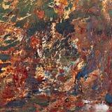 Pintura abstracta. Fotos de archivo