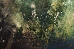 Pintura abstracta con la estructura borrosa y manchada Efecto del color y collage del ordenador Imagen de archivo libre de regalías