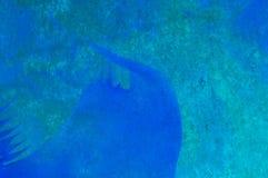Pintura abstracta de la cera, detalle ilustración del vector