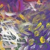 Pintura abstracta de la primavera Imagen del vector EPS 10 Imágenes de archivo libres de regalías