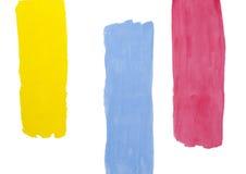 Pintura abstracta del color de agua Foto de archivo libre de regalías