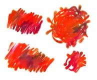 Pintura abstracta del guasch libre illustration