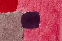 Pintura abstracta, detalle stock de ilustración